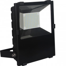 Projecteur LED 80W 9000lm IP65 6500K Noir