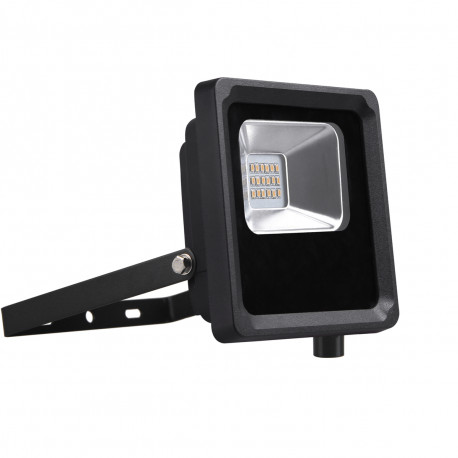 Projecteur LED IP65 750lm 10W 6500K Noir