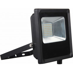 Projecteur LED IP65 2400lm 30W 6500K Noir